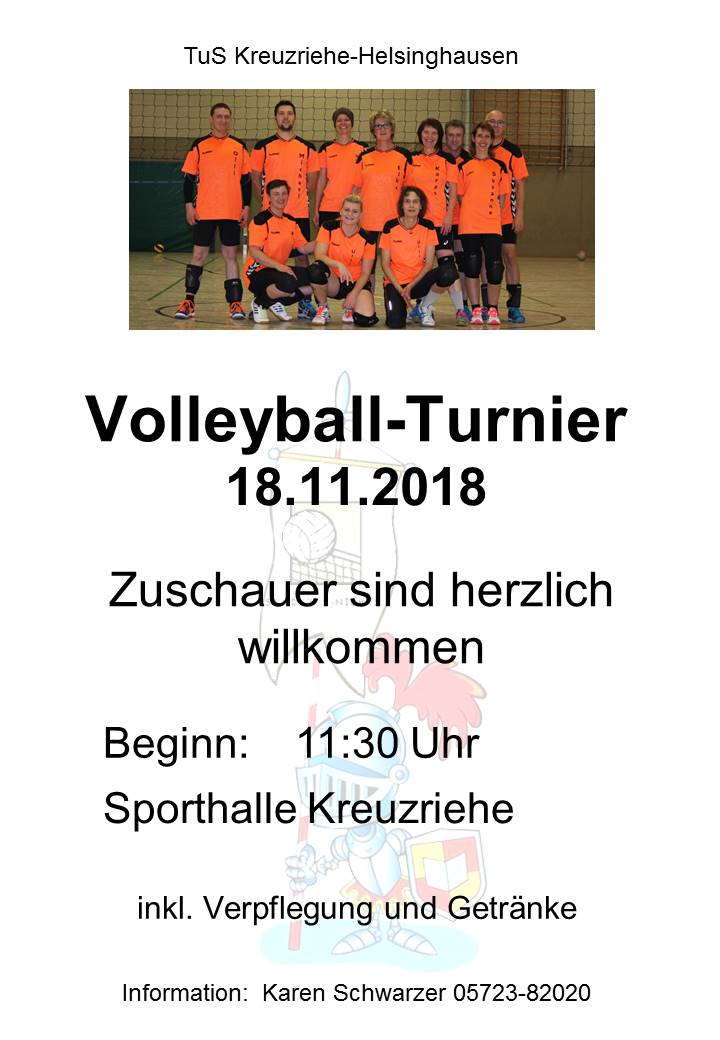 Volleyball Turnier 2018 Kreuzriehe 2